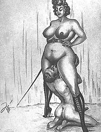trimmed pussy vintage nude