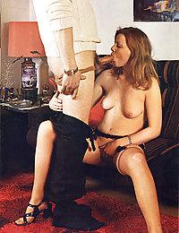 pussy lieck vintage nude