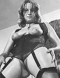 big vintage tits boobs hanging in mouth