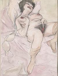 vintage nude tit vargan pussy and big cock