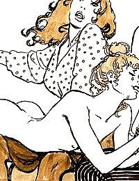 hairy mature pussy vintage nude